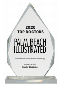 photo of 2020 top doctors glass award